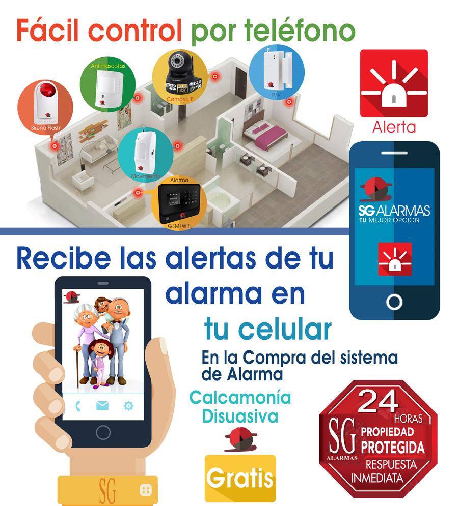 Control remoto inal mbrico seguridad alarma casa negocio - Alarmas para casa precios ...